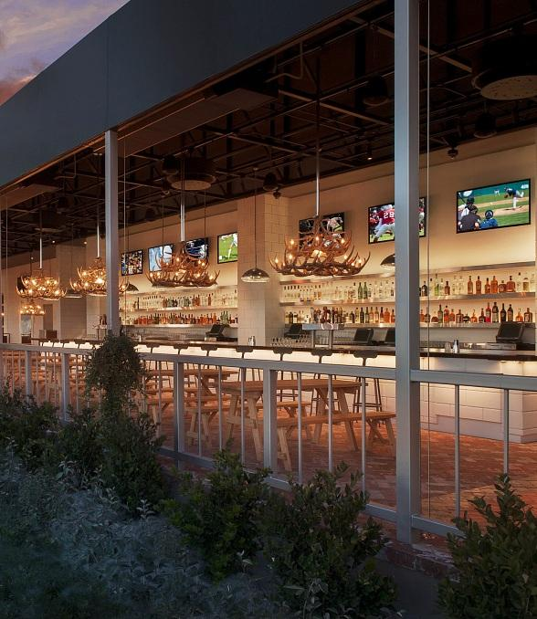 Umami Burger, Beer Garden & Sports Book at  SLS Las Vegas to Rev Up for NASCAR Weekend