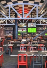 SLS Las Vegas Slam Dunks with Hoops Madness Viewing Parties at Umami Burger, Beer Garden and Sports Book