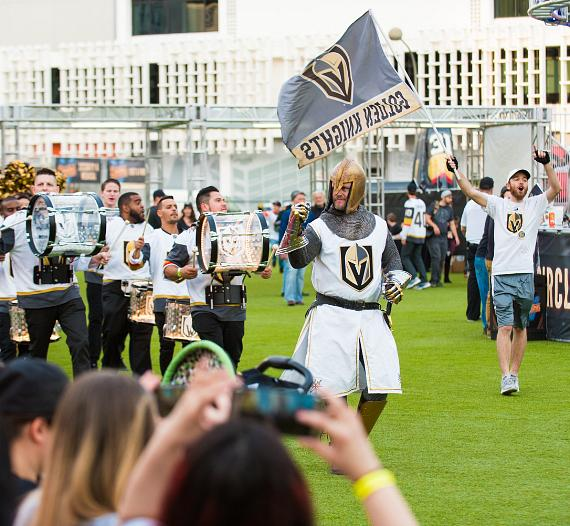 Vegas Golden Knights Fans Invited to Catch Away Game Action at