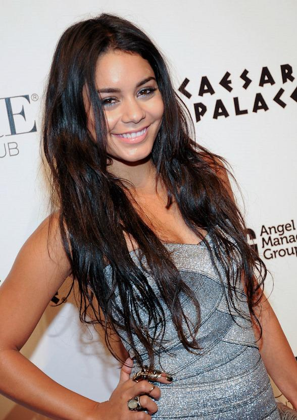 Vanessa Hudgens Hosts at PURE Nightclub at Caesars Palace