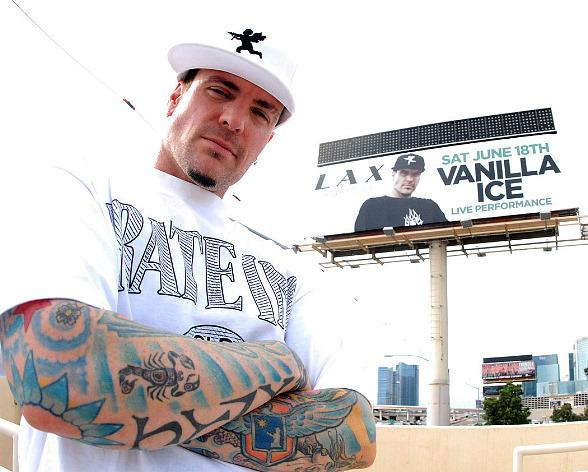 Vanilla Ice Promotes His Las Vegas Show at LAX Nightclub