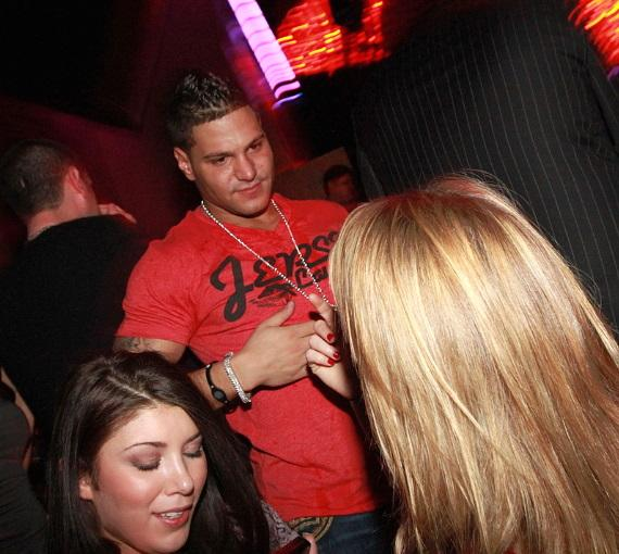 Jersey Shore's Ronnie Ortiz-Magro at Vanity in Hard Rock Hotel