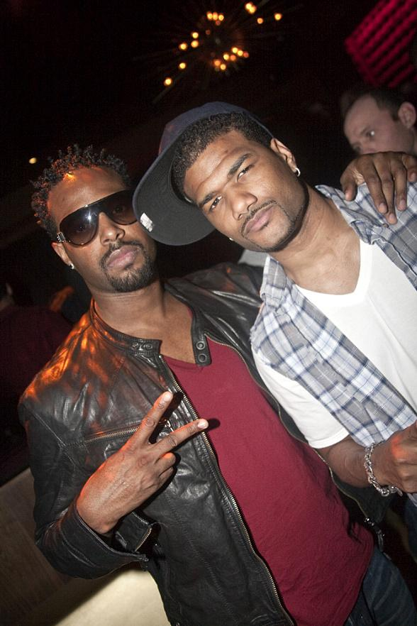 Shawn and Damien Wayans Party at Vanity