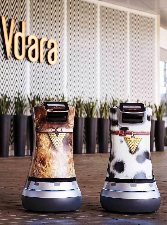 Robot Butlers Recharge Guest Experience at Vdara Hotel & Spa in Las Vegas