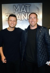 "Vegas Golden Knights Defenseman Brad Hunt Attends ""Mat Franco – Magic Reinvented Nightly"" at the LINQ Hotel & Casino Las Vegas"