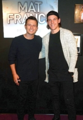 "Vegas Golden Knight Erik Haula Attends ""Mat Franco – Magic Reinvented Nightly"" at The LINQ Hotel & Casino"