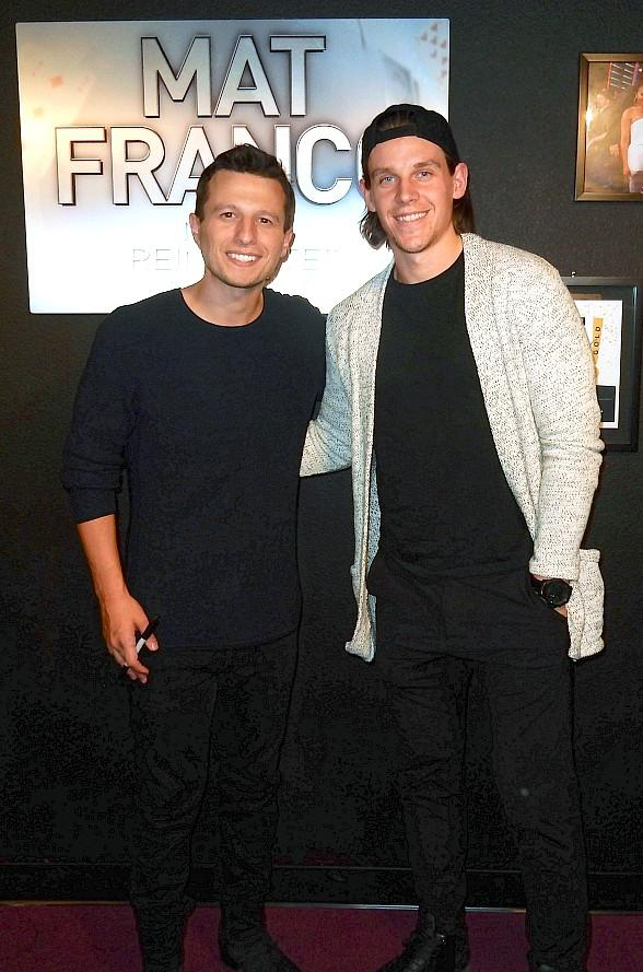 "Vegas Golden Knight Erik Haula Attends ""Mat Franco - Magic Reinvented Nightly"" at The LINQ Hotel & Casino"