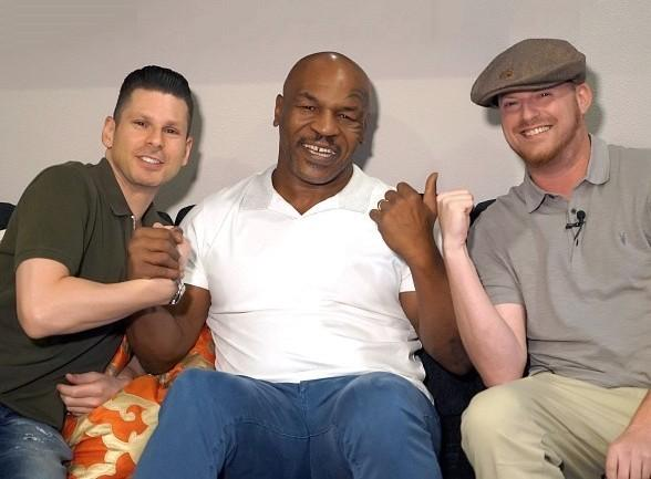 """Mike Hammer and Brian Shapiro of """"The Vegas Take"""" on CBS Sports Radio welcome Former Undisputed Heavyweight Boxing Champ Mike Tyson Saturday, September 17"""