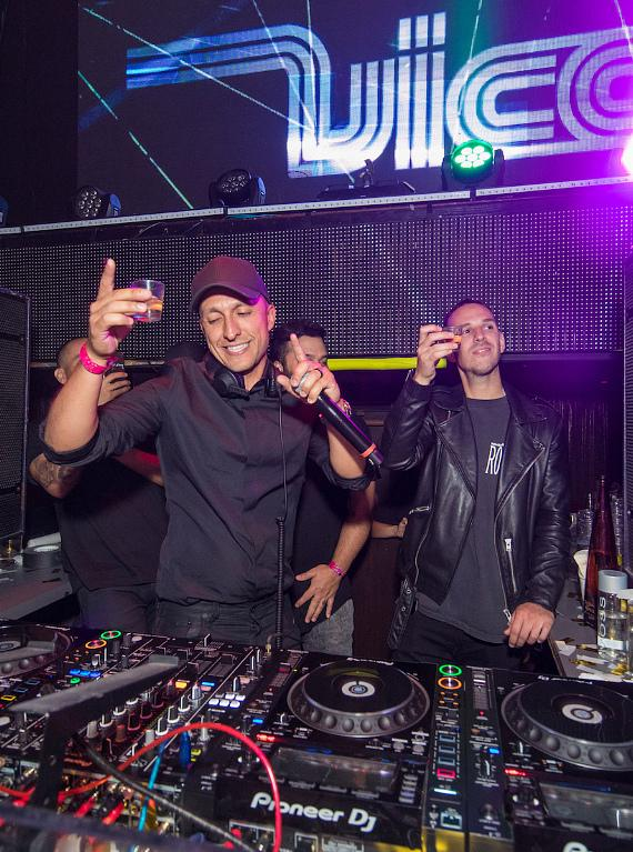 Vice and Eric Dlux at TAO 12th Anniversary
