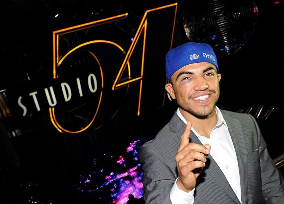 Victor Ortiz at Studio 54, Las Vegas