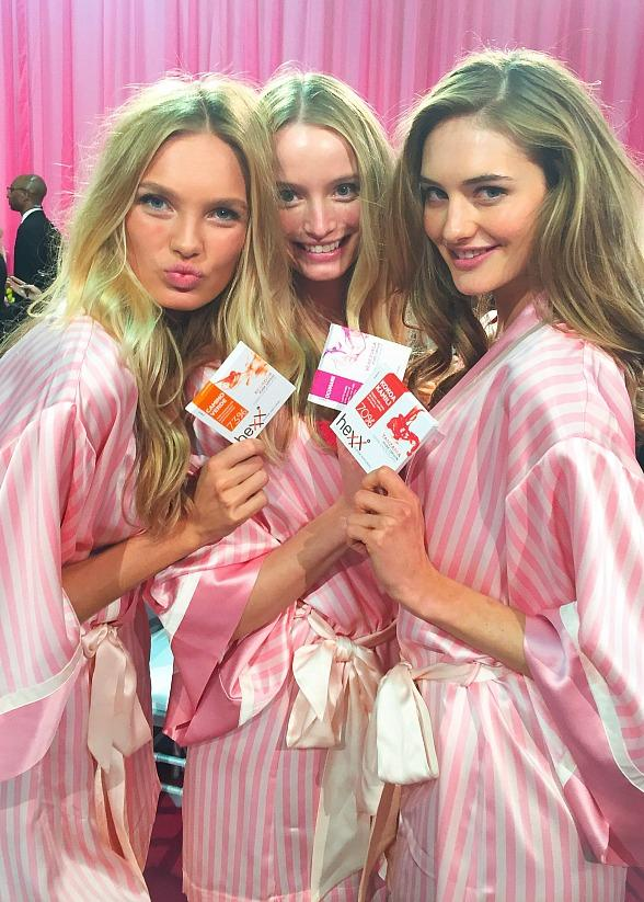 Victoria's Secret Angels spotted with HEXX Chocolate & Confexxions at 2015 Victoria's Secret Fashion Show