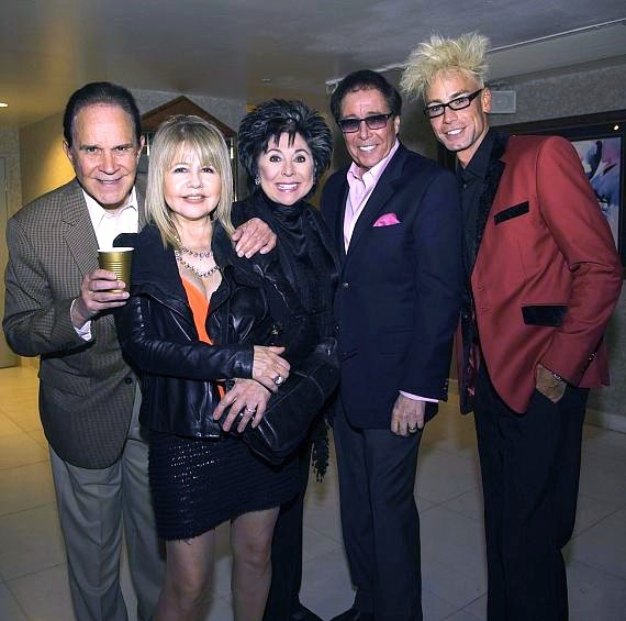 Rich Little, Pia Zadora, Lorraine Hunt, Dennis Bono and Murray SawChuck