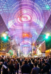 Fremont Street Experience to Begin $32 Million Renovation of the Iconic Viva Vision Canopy in Downtown Las Vegas, Feb. 2019