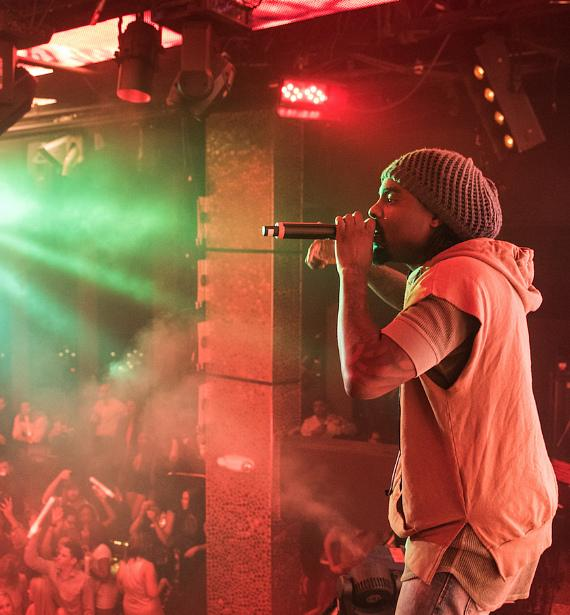 Wale performs at TAO