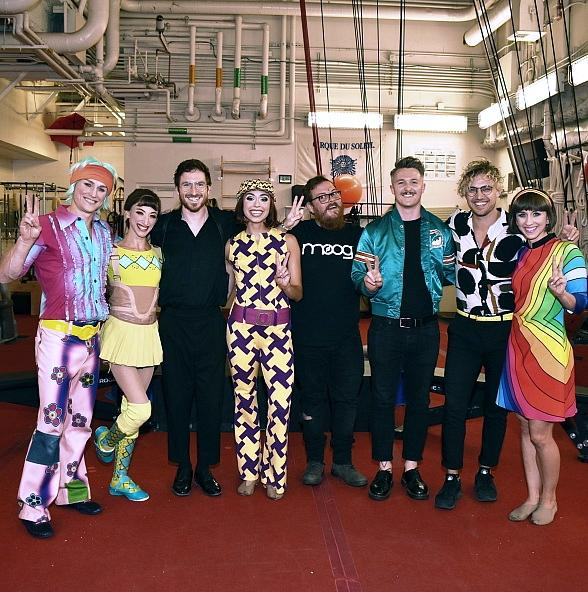 "Rock Band 'Walk the Moon' Attends ""The Beatles Love by Cirque DU Soleil"""
