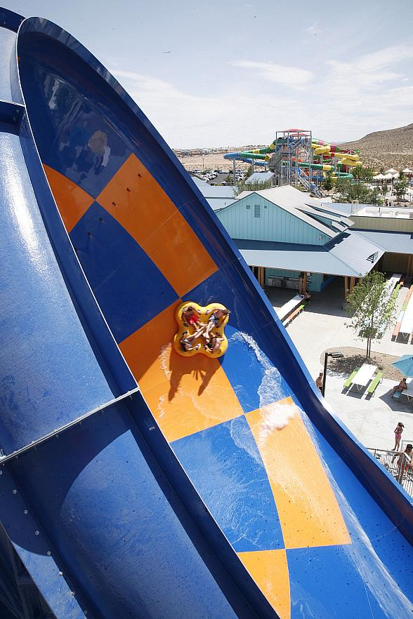 The Tornado Has Landed: World's Premier Funnel Slide at Wet'n'Wild Las Vegas