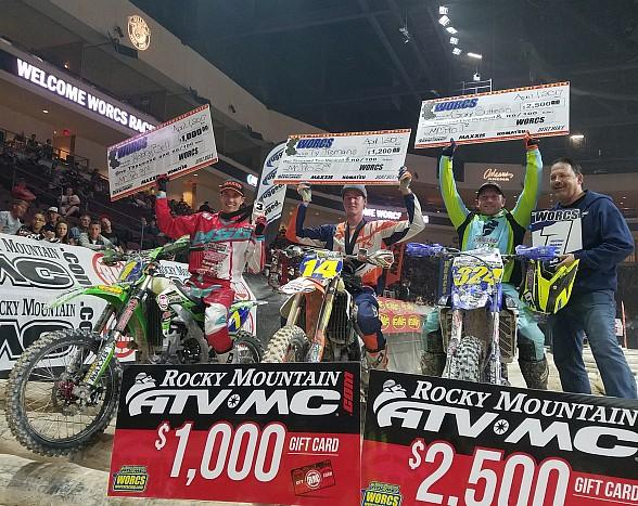 WORCS Racing Returns to the Orleans Arena April 12-14