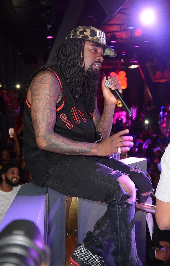 Hip-Hop Artist Wale Celebrates Album Release Party at Chateau Nightclub & Rooftop at Paris Las Vegas