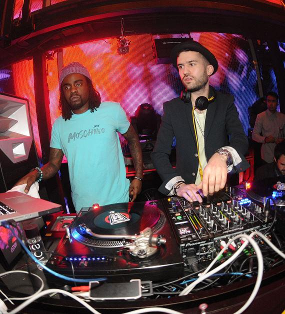 Wale and ATrak at Marquee