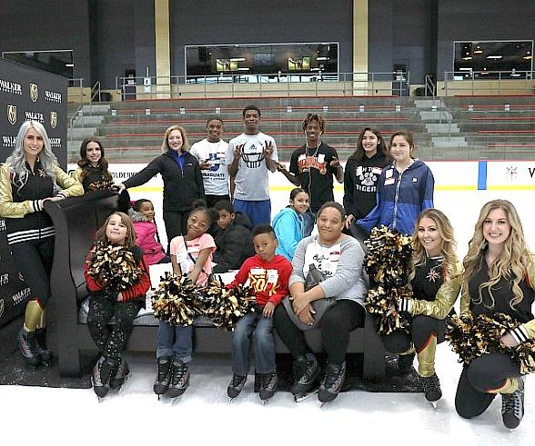 Walker Furniture Holds Inaugural 'Beds for Kids' Event with Vegas Golden Knights