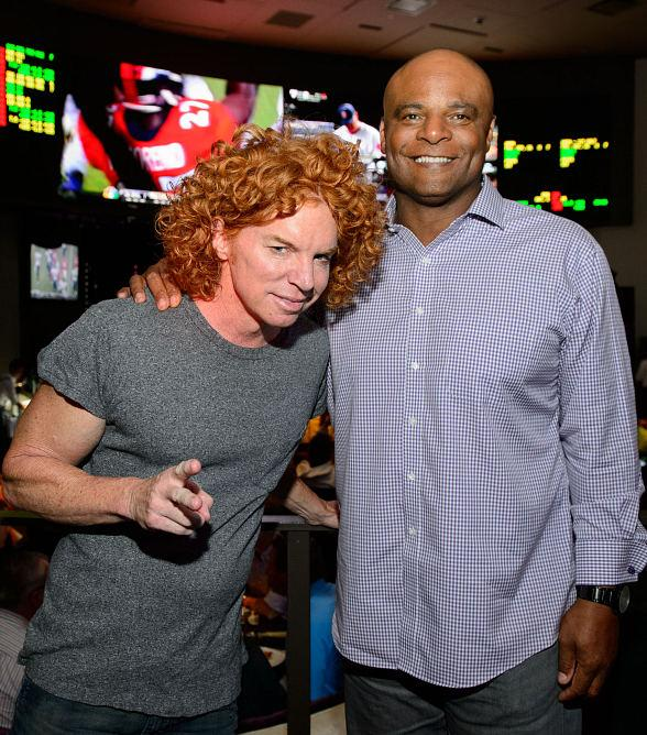 Carrot Top and Warren Moon at HERAEA