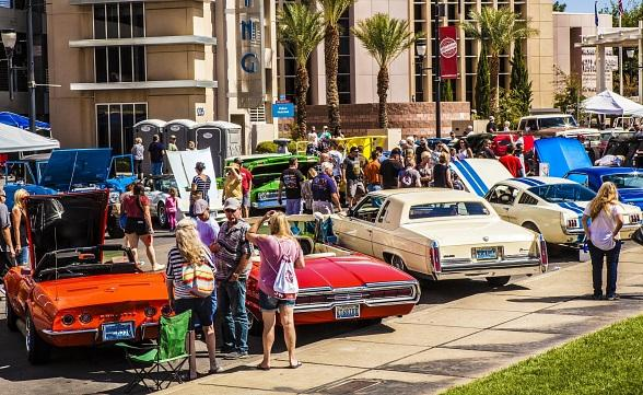 Henderson Revs Up For The Water Street Car Show September - Car show news