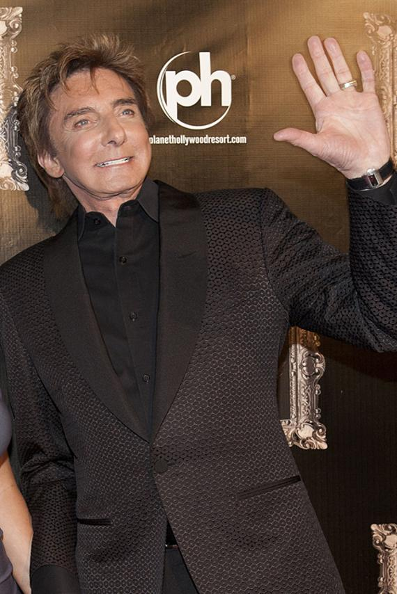 Barry Manilow at Gallery Nightclub in Planet Hollywood