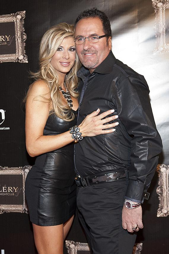 Alexis Bellino and husband Jim at Gallery Nightclub in Planet Hollywood