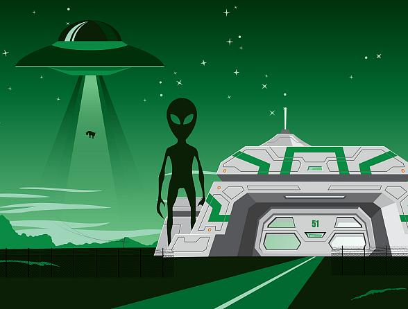 'Storm' Area 51 Basecamp Set for Sept. 20-21 at the Alien Research Center on the Extraterrestrial Highway