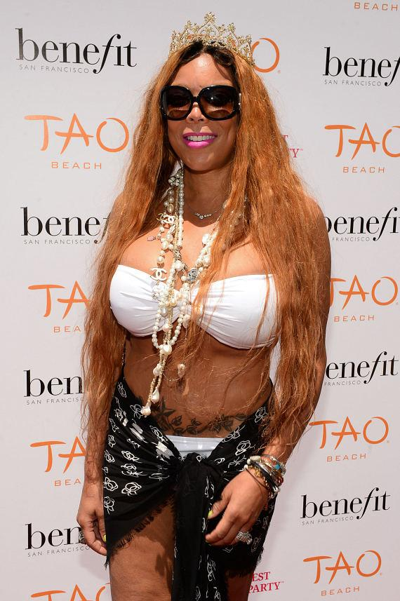 Wendy Williams on TAO Beach Red Carpet