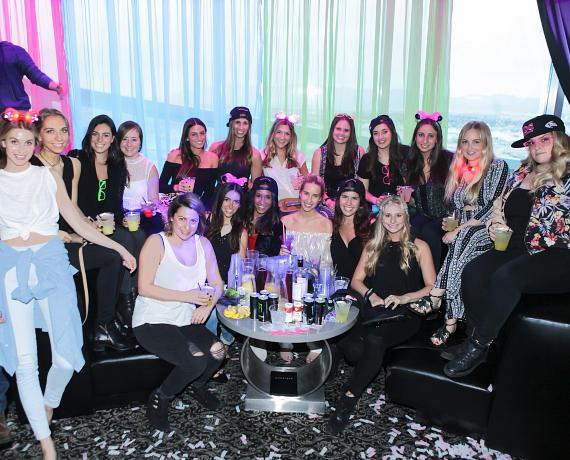 Whitney Port and friends celebrate sister sister Jades bachelorette party