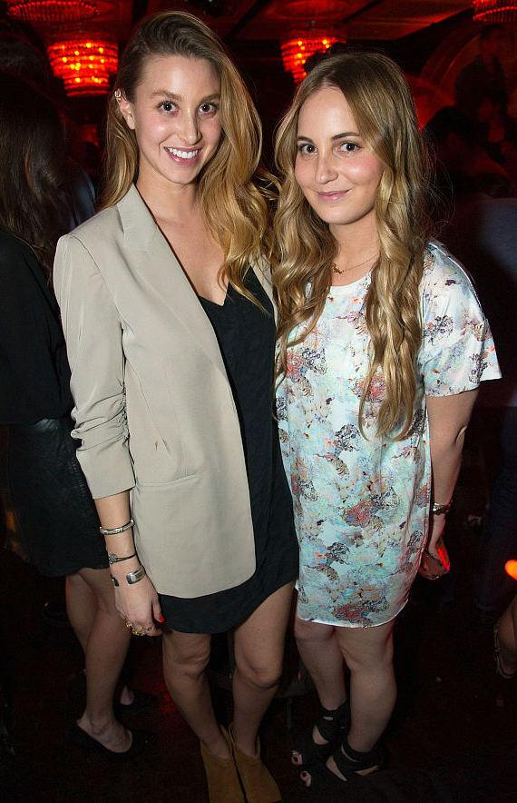 Whitney Port and sister Paige at LAVO