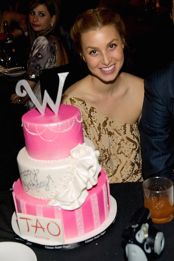 Whitney Port Celebrates Birthday at TAO Las Vegas