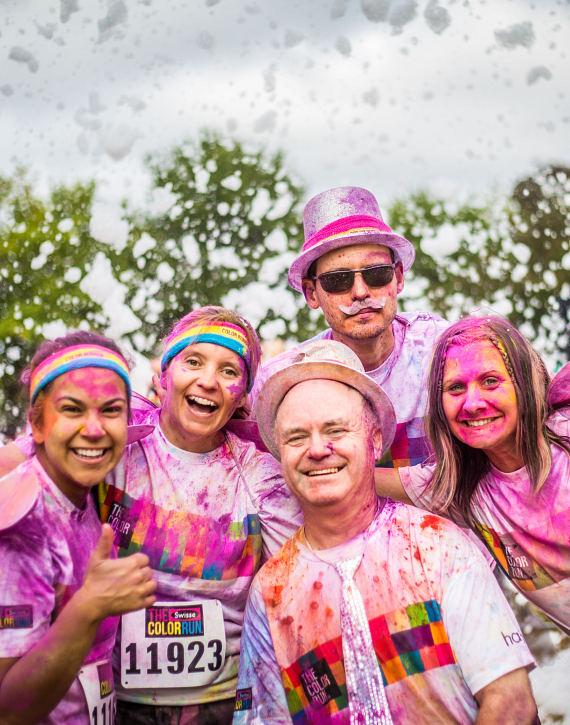 The Color Run Dream Tour, Presented by Lay's, Comes to Las Vegas, Saturday, Feb. 25