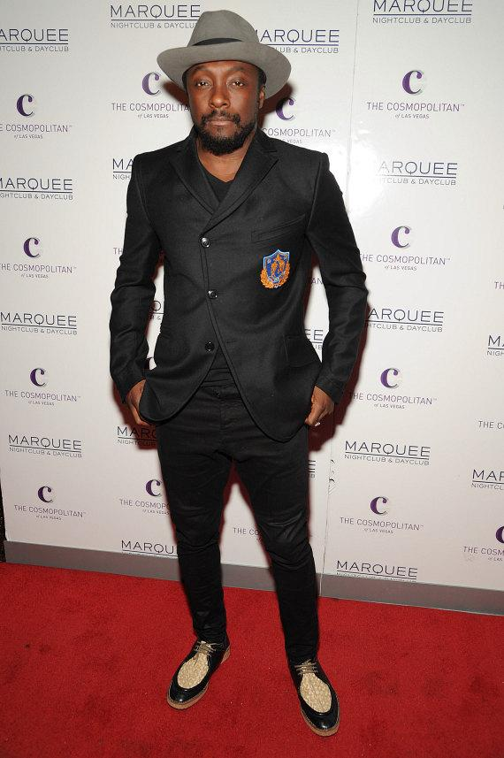 Will.I.Am on red carpet at Marquee Nightclub in Las Vegas