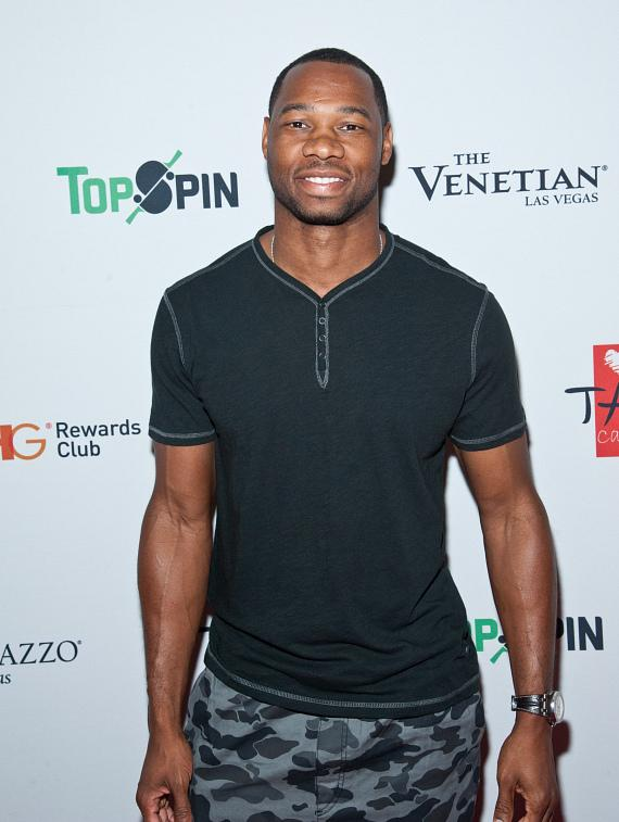 Willie Green on the 2015 TopSpin Charity Ping Pong Tournament Red Carpet