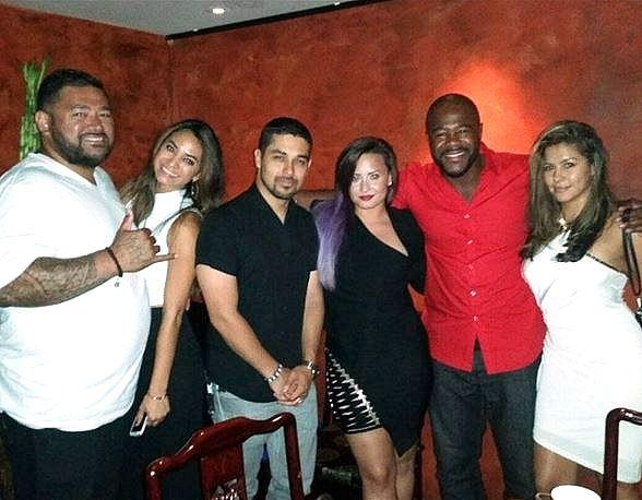 DJ Khaled, Wilmer Valderrama, Demi Lovato, Floyd Mayweather and more at TAO