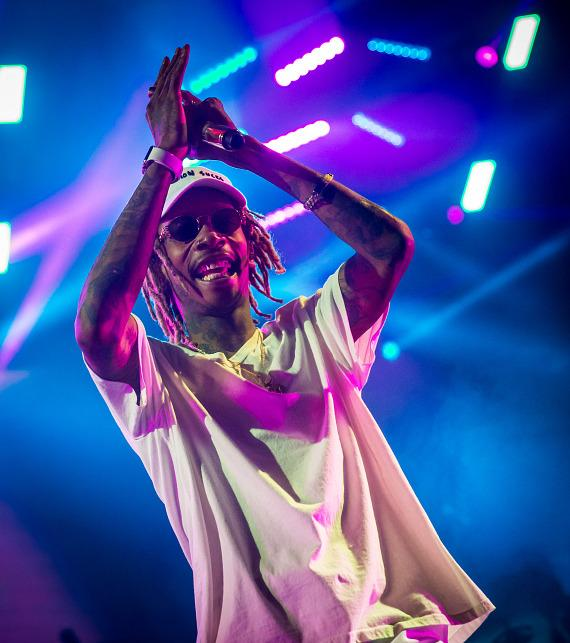 Wiz Khalifa performs at Mandalay Bay Events Center