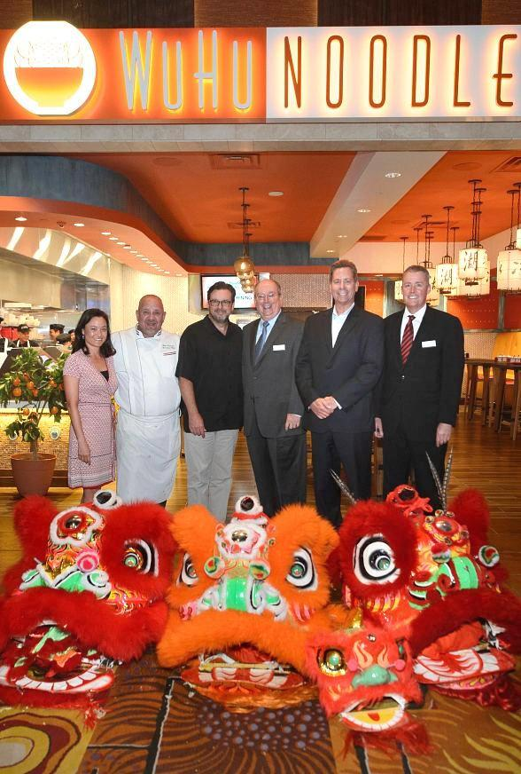 WuHu Noodle Grand Opening Parade and Ribbon Cutting at Silverton Casino Hotel