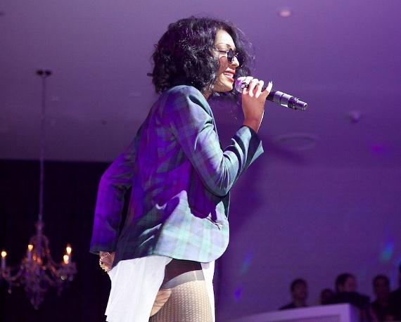 Wynter Gordon at Bagatelle Grand Opening