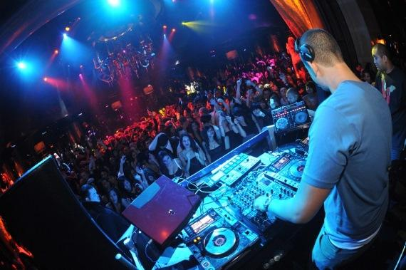 Afrojack at XS