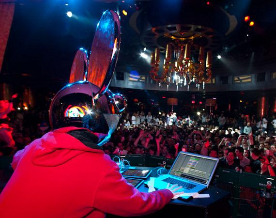 Deadmau5 at XS Nightclub