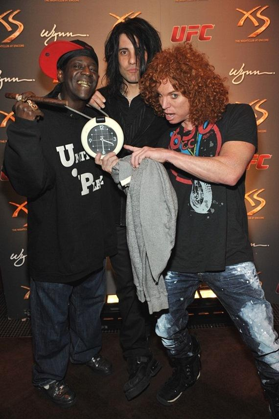 Flava Flav, Criss Angel and Carrot Top at XS