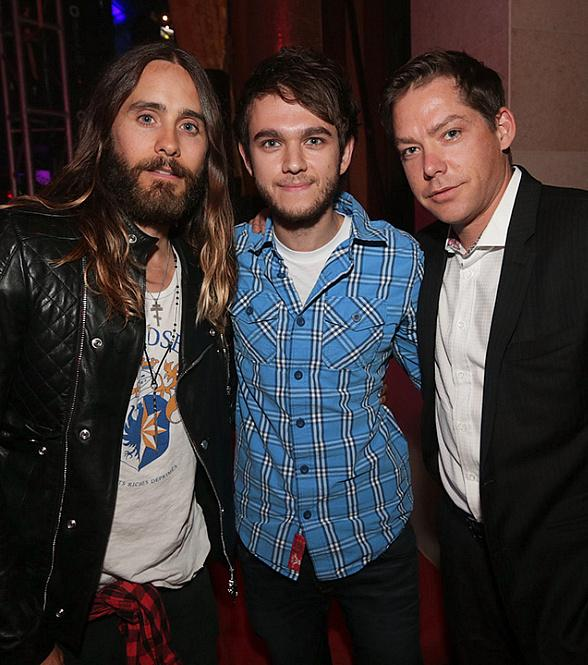 Jared Leto, Zedd and XS Managing Partner Jesse Waits