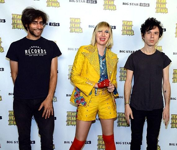 The Yeah Yeah Yeahs on red carpet at The Cosmopolitan of Las Vegas