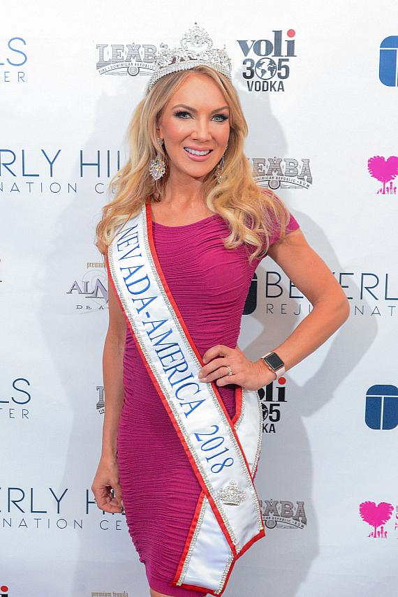 Yelena Anter at Beverly Hills Rejuvenation Center Downtown Summerlin's Grand Opening Event