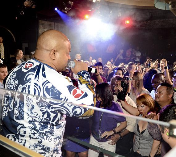 Young MC hosts at