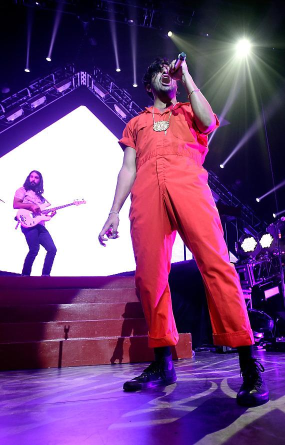 Young the Giant rocks The Pearl at Palms Casino Resort in Las Vegas