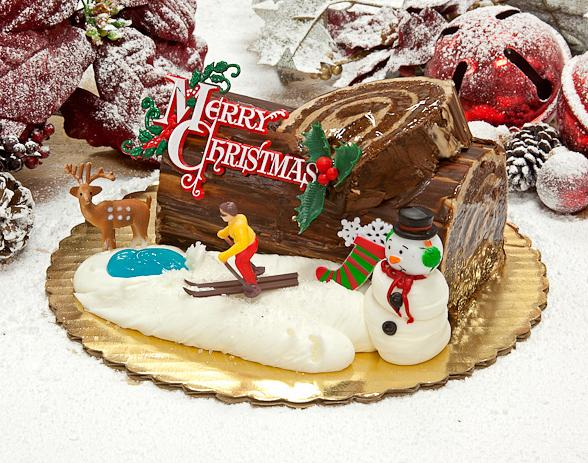 A 'Cake Boss' Yule Log to Make the Season a Little Sweeter
