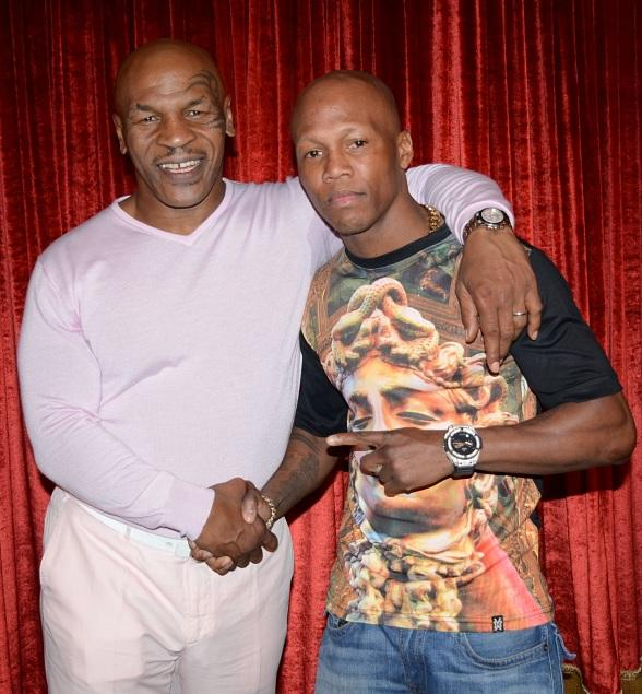 "Zab Judah attend Mike Tyson ""Undisputed Truth"" at MGM Grand in Las Vegas"
